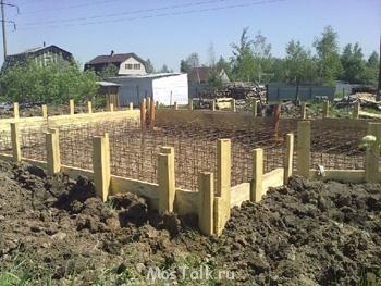 Фундаментные работы. Фундамент для дома и бани - ф 2.jpg