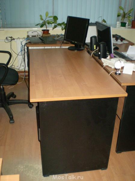 Продам офисный стол - недорого  - P1011034.JPG
