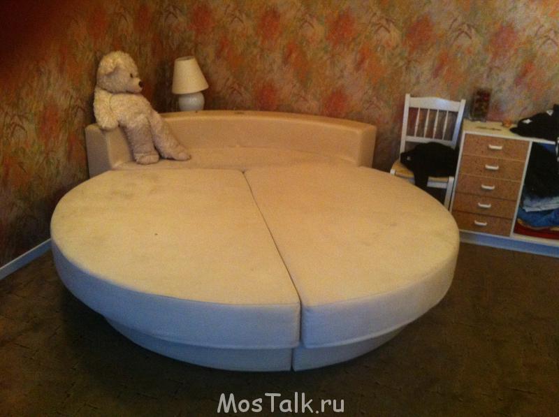 Продам круглую дизайнерскую кровать - фотография1.jpg